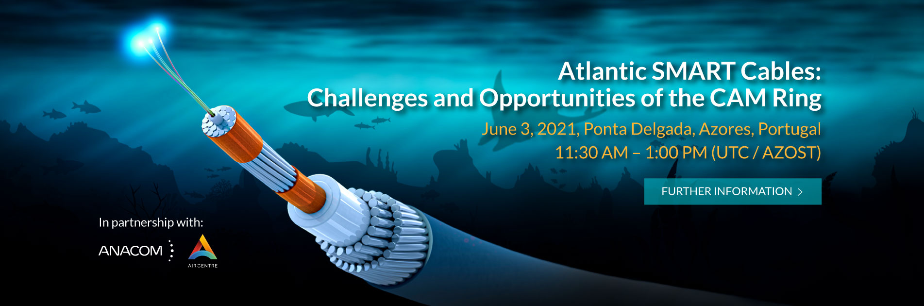Atlantic Smart Cables: Challenges and Opportunities of the CAM Ring