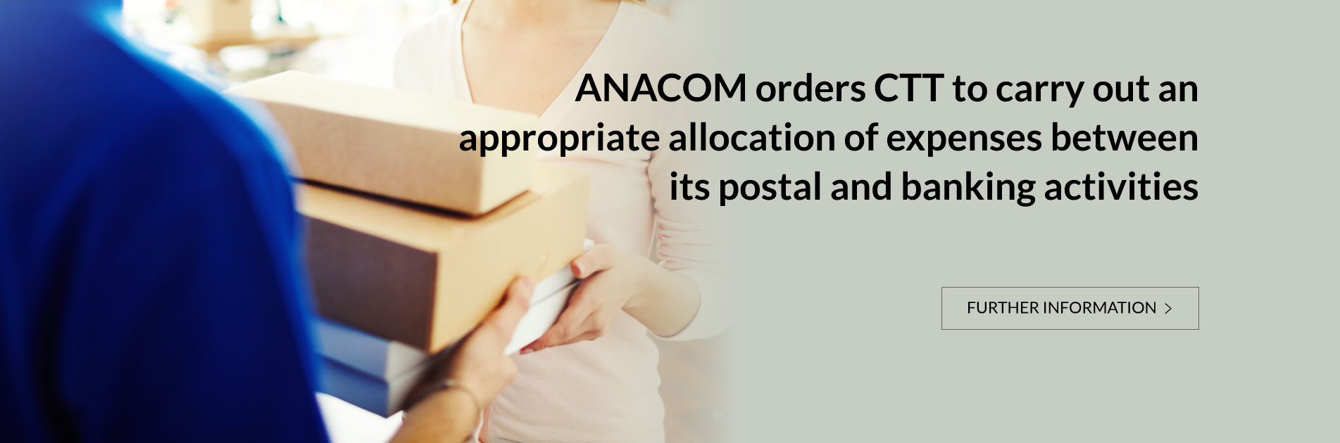 ANACOM orders CTT to carry out an appropriate allocation of expenses between its postal and banking activities