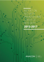 Report on security breaches and losses of integrity (2015-2017)