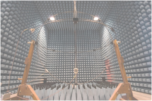 Facilities - Semi-anechoic lined shielded enclosure: Frequency band: 26 MHz a 18 GHz