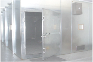 Facilities - Lined shielded enclosure: Frequency Band: 15 kHz to 10 GHz
