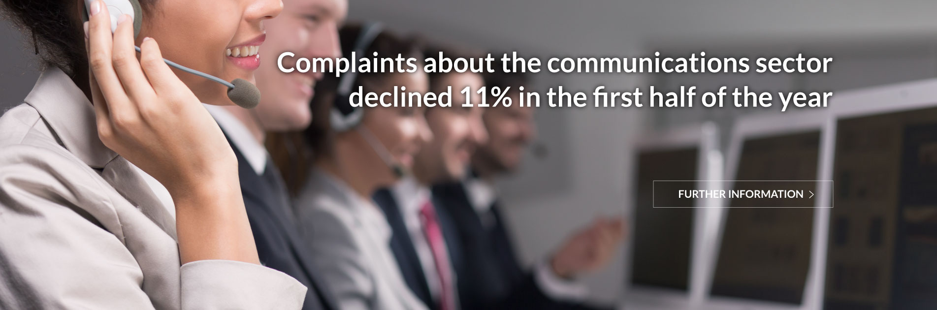 Users of communications services submitted around 43 thousand complaints in the first half of the year, 32 thousand of which concerned electronic communications and 11 thousand the postal sector.