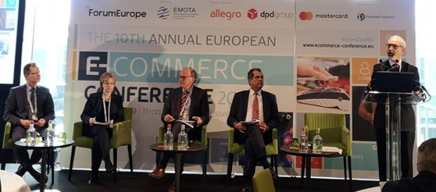 Participação de João Cadete de Matos, Presidente da ANACOM na 10th Annual European E-Commerce Conference 2019.
