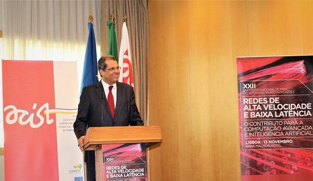 João Cadete de Matos, Presidente da ANACOM, na sessão de abertura