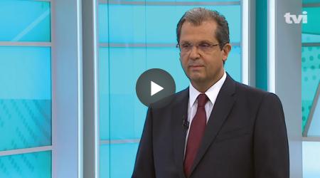 """Entrevista a João Cadete de Matos, Presidente da ANACOM, no programa """"Diário da Manhã"""", de 14.09.2018, na rúbrica """"Economia 24"""", da TVI e TVI24."""