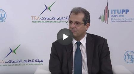 Entrevista a João Cadete de Matos, Presidente da ANACOM, a 02.11.2018, durante a 20.ª Conferência de Plenipotenciários da União Internacional das Telecomunicações (UIT).